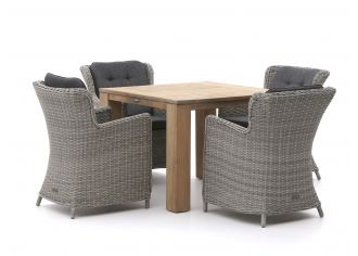 Intenso Milano/ROUGH-X 100cm dining tuinset 5-delig